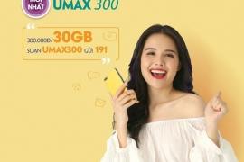 Đăng ký gói Umax300 thả ga lướt net
