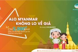 Cước gọi Quốc tế của Viettel đến Myanmar rẻ nhất Việt Nam