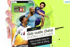Ra mắt gói cước Data xem truyền hình K+ ngay trên điện thoại