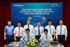 Bưu chính Viettel hợp tác với Bảo Việt Nhân thọ