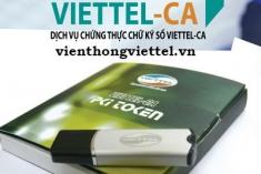 Bảng Giá Chữ Ký Số Viettel