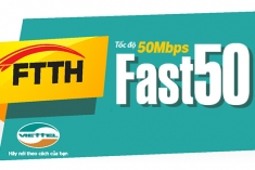 FTTH Fast 50Mb