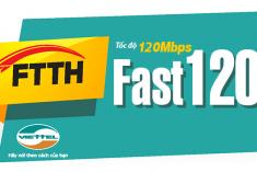 FTTH Fast 120Mb