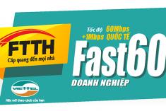 FTTH Fast 60Mb
