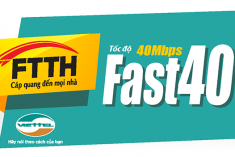 FTTH Fast 40 MB Plus
